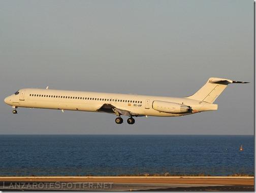 EC-JUF Swiftair McDonnell Douglas MD-82 (DC-9-82)