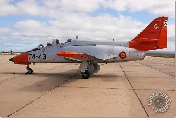 74-43 E.25-43 Fuerza Aérea CASA C-101EB Aviojet