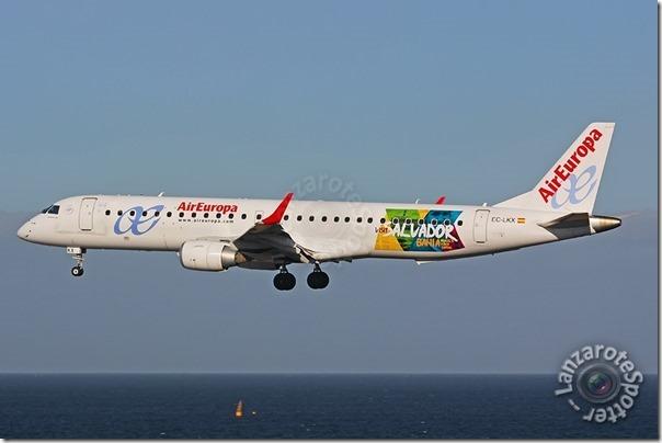 EC-LKX Air Europa Embraer ERJ-195LR (ERJ-190-200 LR)