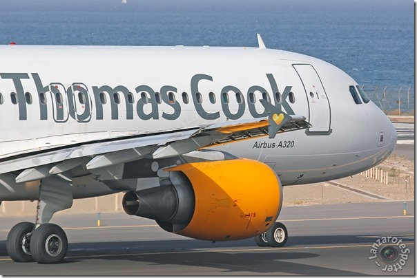 OO-TCW Thomas Cook Airlines Belgium Airbus A320-214