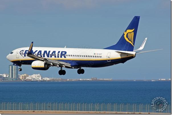 EI-EVT Ryanair Boeing 737-8AS(WL)