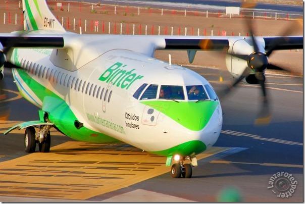 """EC-MYT Binter Canarias ATR 72-600 (72-212A) """"Cabildos insulares"""""""